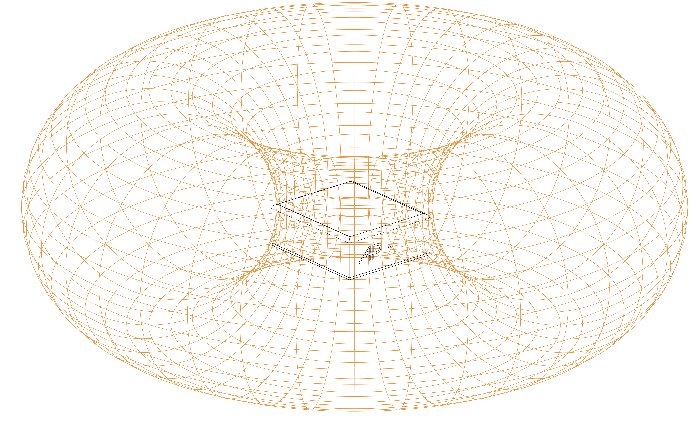 AP Design Osmo emissione toroide