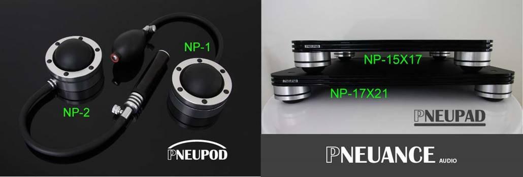 Pneuance Audio products