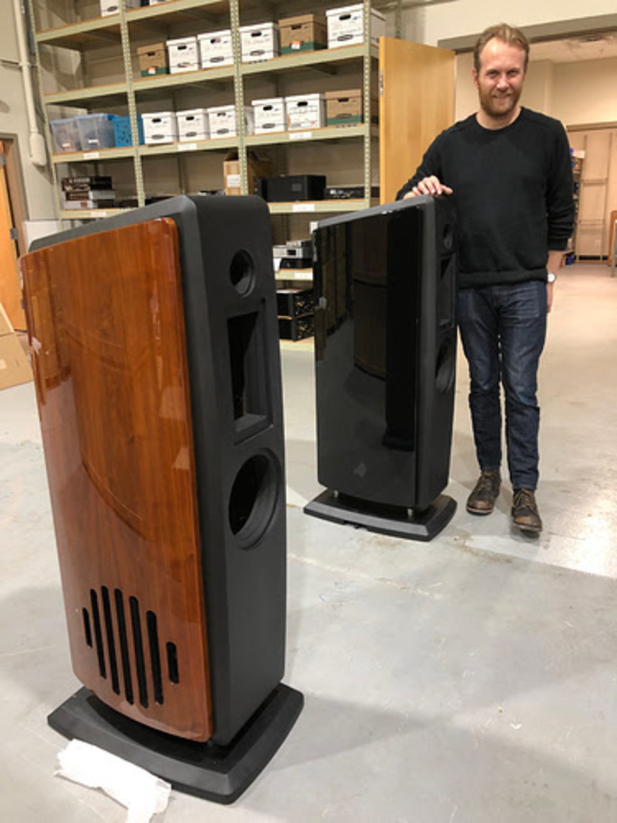 PS Audio AN3 speaker prototype