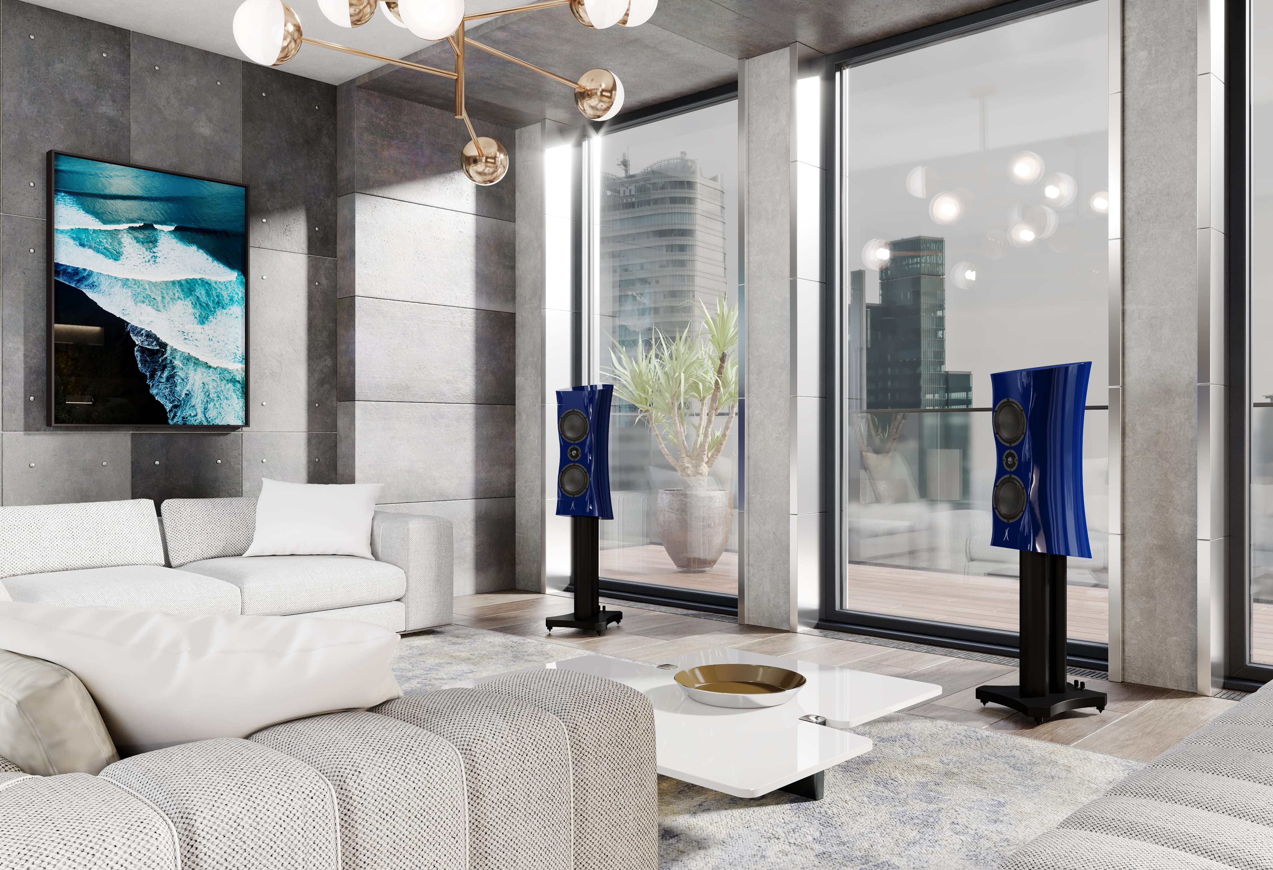 Estelon decorates interiors with high-end audio
