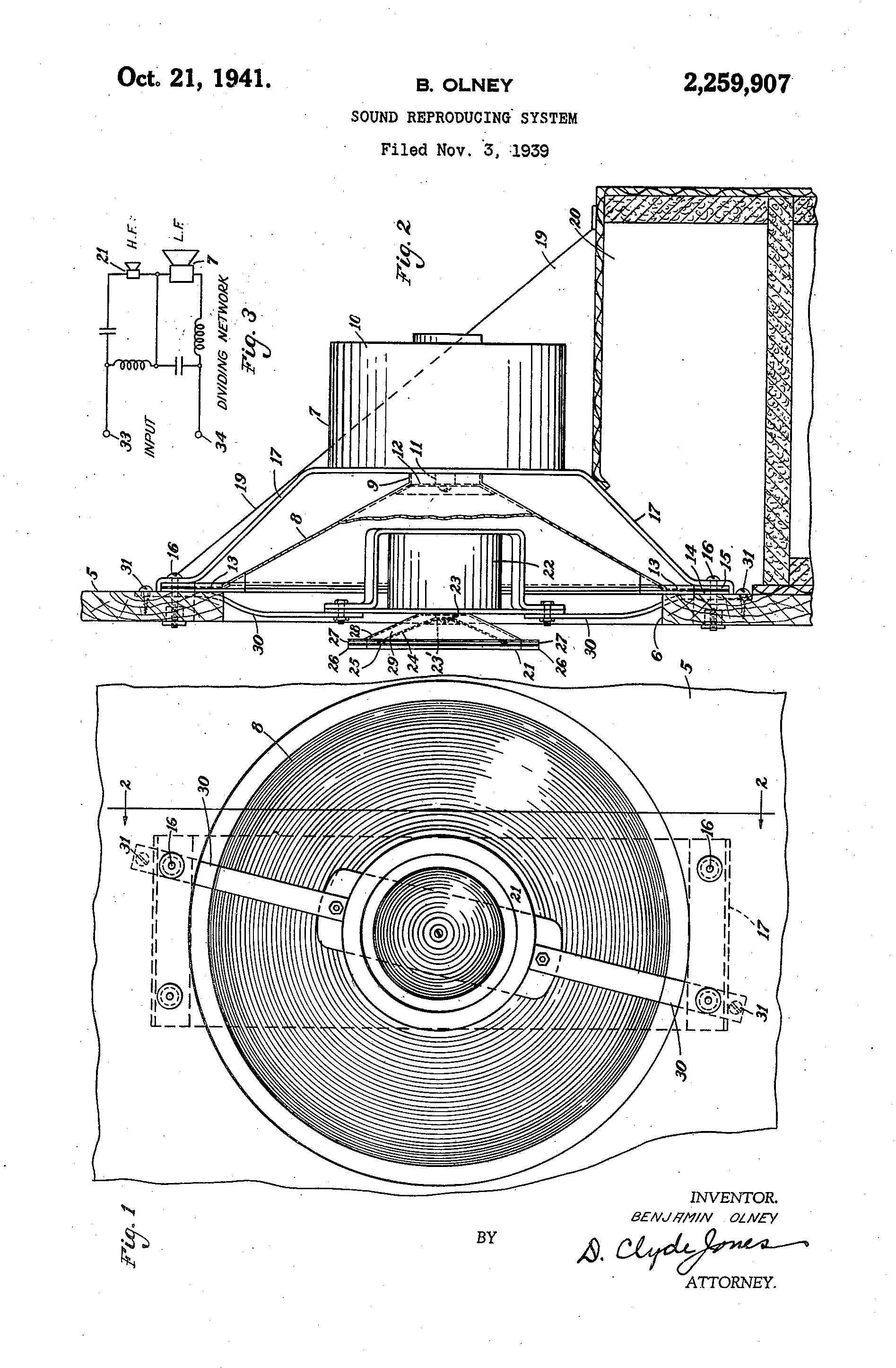 La pubblicazione nel 1941 degli studi di B. Olney (fonte: google.com)