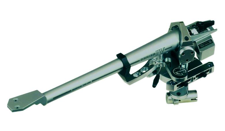 Un capolavoro: il moderno braccio SME 309 IV realizzato con la canna in pressofusione in un unico pezzo e lo shell integrato (fonte: analogueseduction.net)