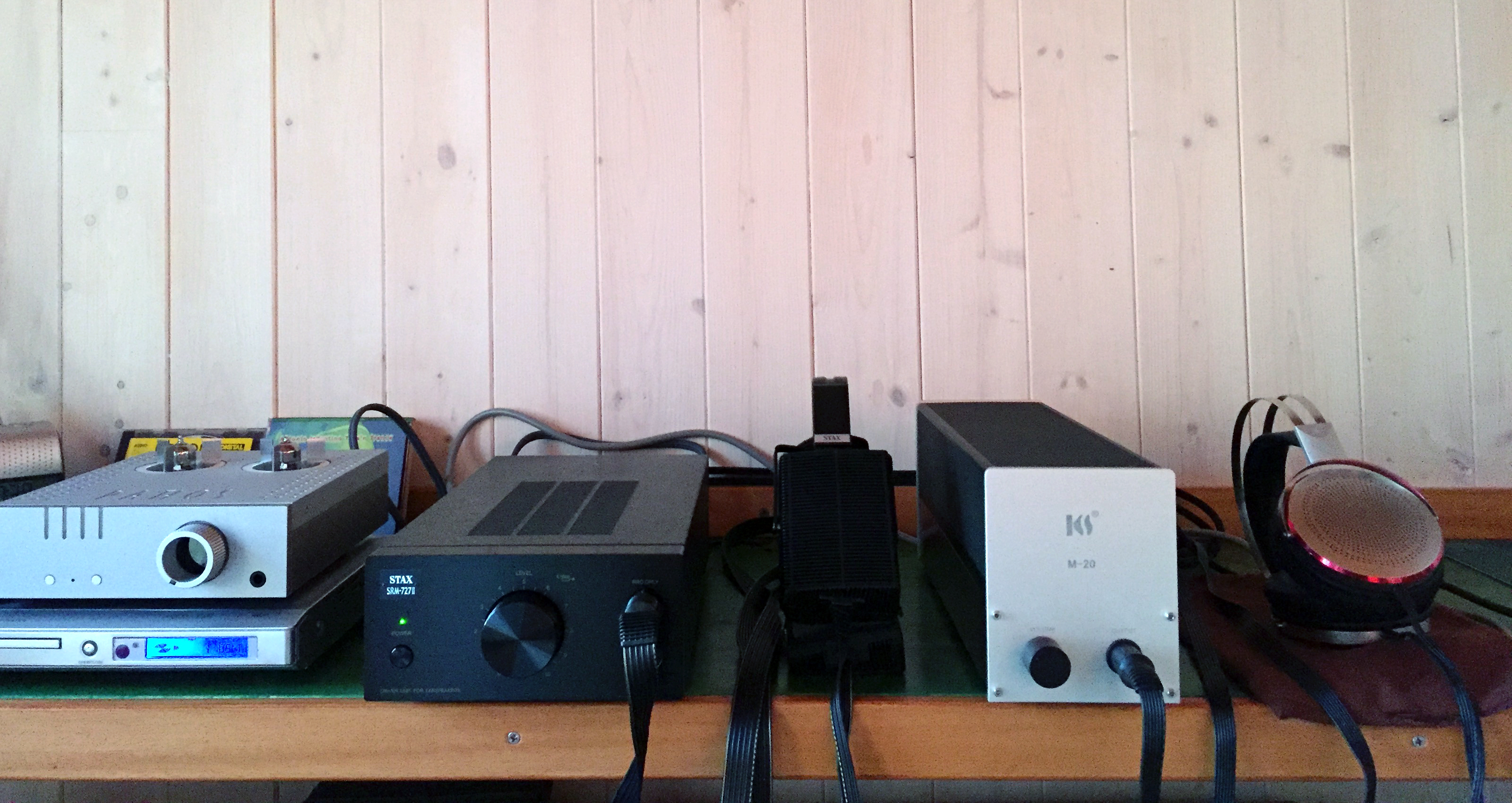 Pathos Aurium + Stax SRM-727I + SR-507 - KingSound M-20 + KS-H3