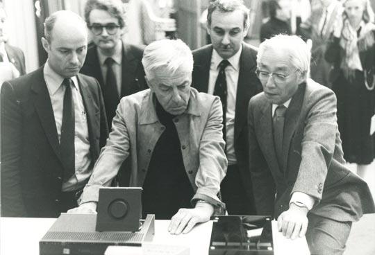 Storia del CD. La prova dei giganti. Philips-Karajan-Sony (fonte: research.philips.com)