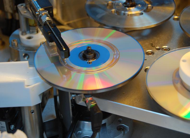 Fasi di lavorazione del Glass Master CD (fonte: plus.google.com)