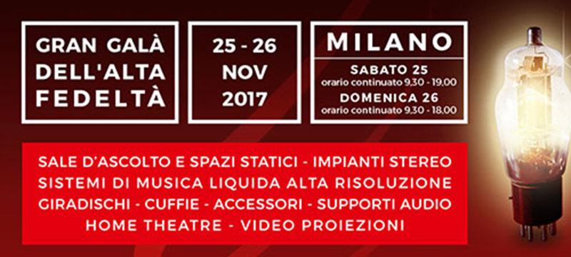 Gran Galà dell'Alta Fedeltà Milano 2017