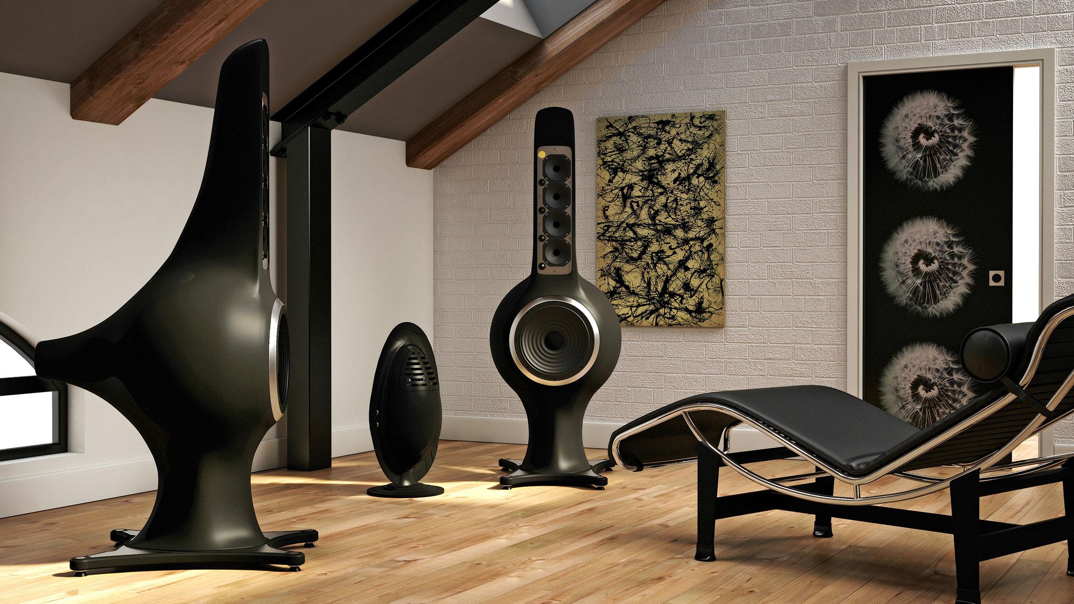 Ampli e diffusori Liutanie Audio