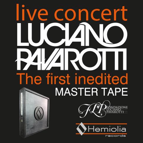 Master Tape analogico di Luciano Pavarotti da Hemiolia