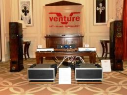 International CES 2014 | Venture Diffusori VIDI, line stage VP100L, power monoblock in classe A V200A