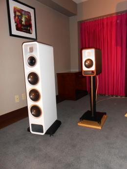 T.H.E. Show 2014 | Coin Audio Mansion compact and Mansion Tower