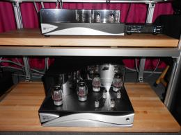 T.H.E. Show 2014 | Zesto Audio Andros PS1 phono stage, The Bia 120 stereo power amp