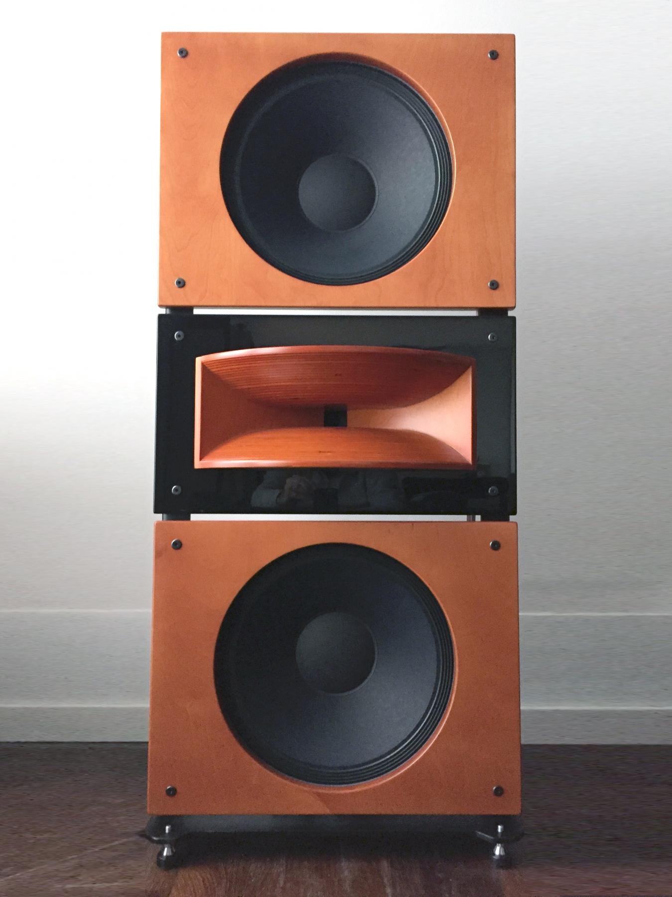 PureAudioProject Trio15 Horn1 loudspeakers