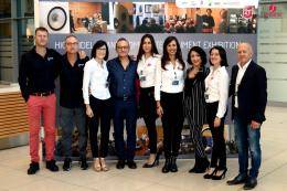 Parte dello staff di Sintonie High-End Video Exhibition 2018.