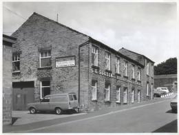 The historical Sugden's factory in Cleckheaton