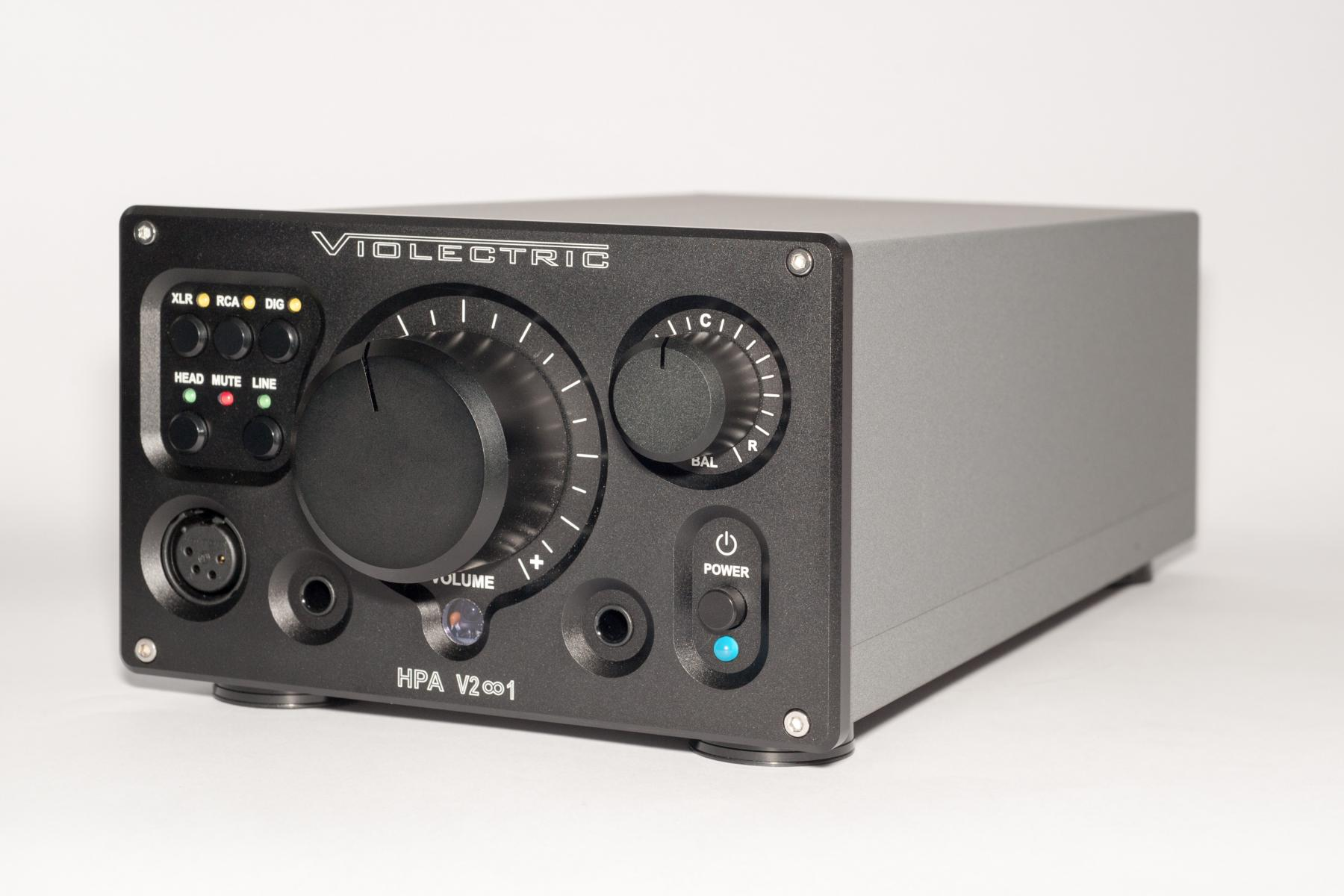 Violectric HPA V281 headphones amp and preamp