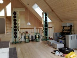 Perfect8 loudspeakers and BFA prototypes (DAC and amp)