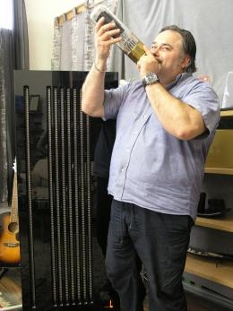 We are boiling hot but Aldo knows what to do with a vacuum tube…