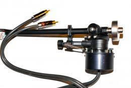 The tonearm is a Rega RB301 set on an armboard that can be blocked in order to adjust with precision the VTA.