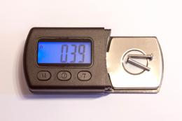 Here is the gauge I bought. The right weight is the one suggested by your stylus.
