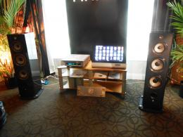 International CES 2014 | Pathos Acoustics Rthos power integrated amp, Focal Aria 948 loudspeakers