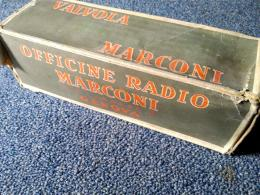 MT31 by Marconi inside the original box. A rare triode of the '30s.