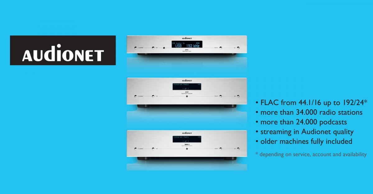 All Audionet DNx machines now with Tidal, Deezer, Qobuz in Hifi/HighRes
