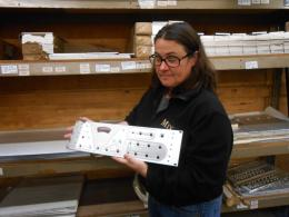 EveAnna Manley couldn't miss. Here a photo taken in the occasion of a visit by ReMusic at the Manley lab in Chino (CA).