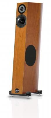 Audio Physic Tempo plus in Cherry Wood Veneer Finish