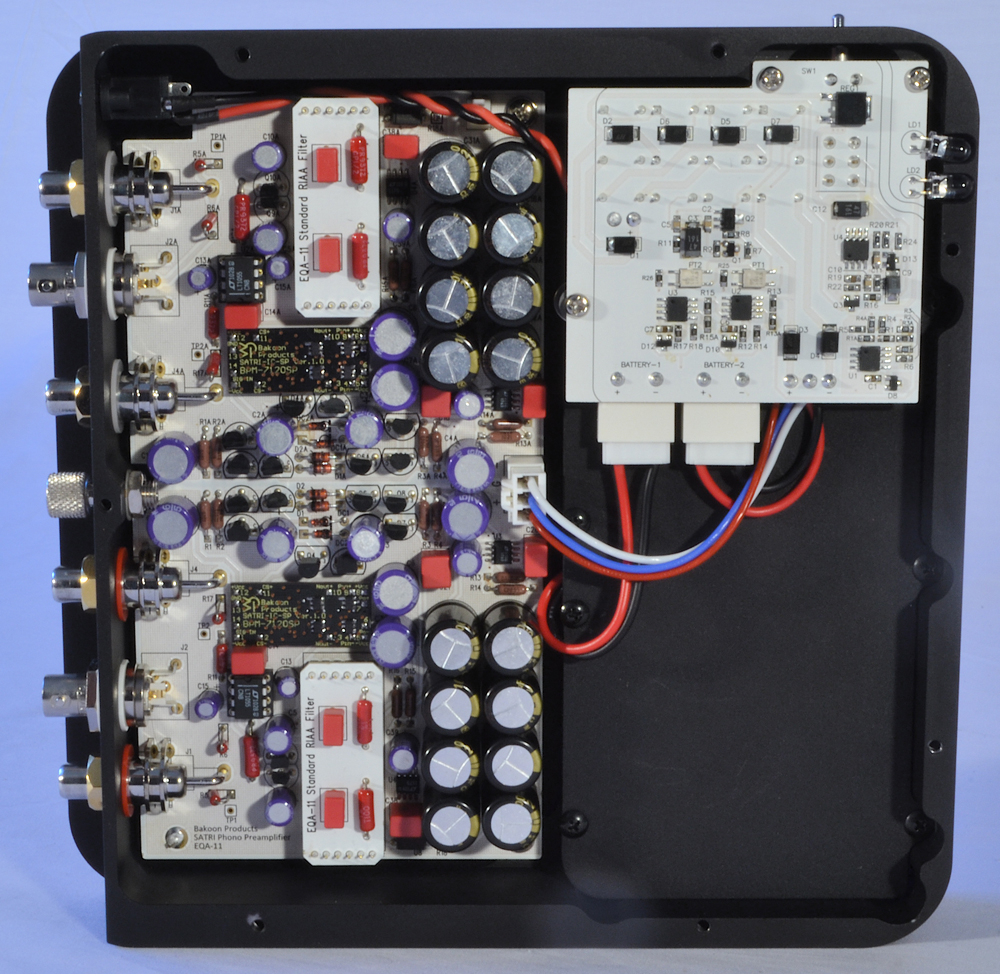 Bakoon Eqa 11 Phono Preamp Preamplifier Circuit Associated Equipment To Paolo Miracle Di Marcoberardinos System