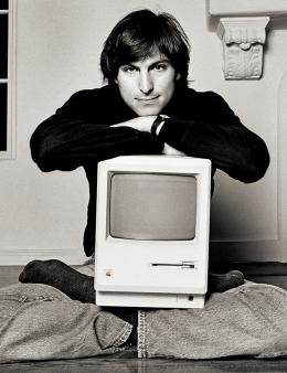 Steve Jobs, Norman Seef, 1984