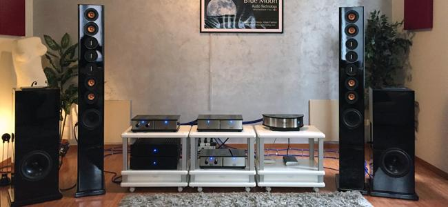 Presentazione impianto Blue Moon Audio Technology